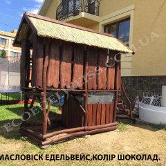 Масловіск Едельвейс,Колір Шоколад.