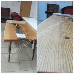 Стіл в стилі «Лофт» з ясеня під масловоском Едельвейс «Для меблів»